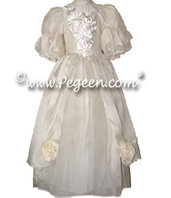 Guinevere Flower Girl Dress - Part of the Regal Collection by Pegeen