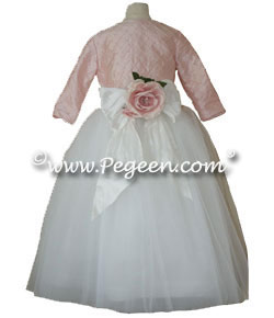 Anne of Cleeves Flower Girl Dress from the Regal Collection by Pegeen