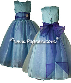 Princess Grace Flower Girl Dress from the Regal Collection by Pegeen