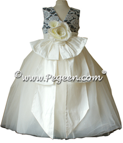 Victoria Flower Girl Dress - Part of the Regal Collection by Pegeen