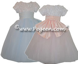 Flower Waltz Nutcracker or Party Flower Girl Dress from the Nutcracker Collection by Pegeen