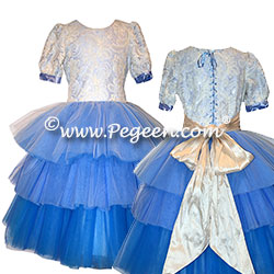 Clara's 3-Tier Ombre Dress Nutcracker or Party Flower Girl Dress from the Nutcracker Collection by Pegeen