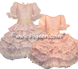 Nutcracker Multi Tier Clara Ruffle Dress Style 722