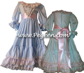 Nutcracker Batiste Cotton Lace Party Dress by Pegeen