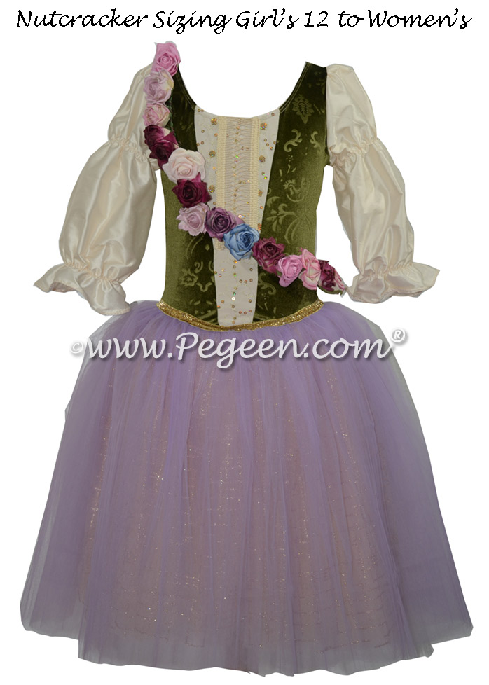 Marzipan Nutcracker Romantic Style Costume