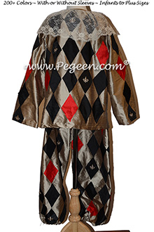 Nutcracker Harlequin Male Costume 781