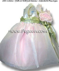 Infant flower girl dresses 802