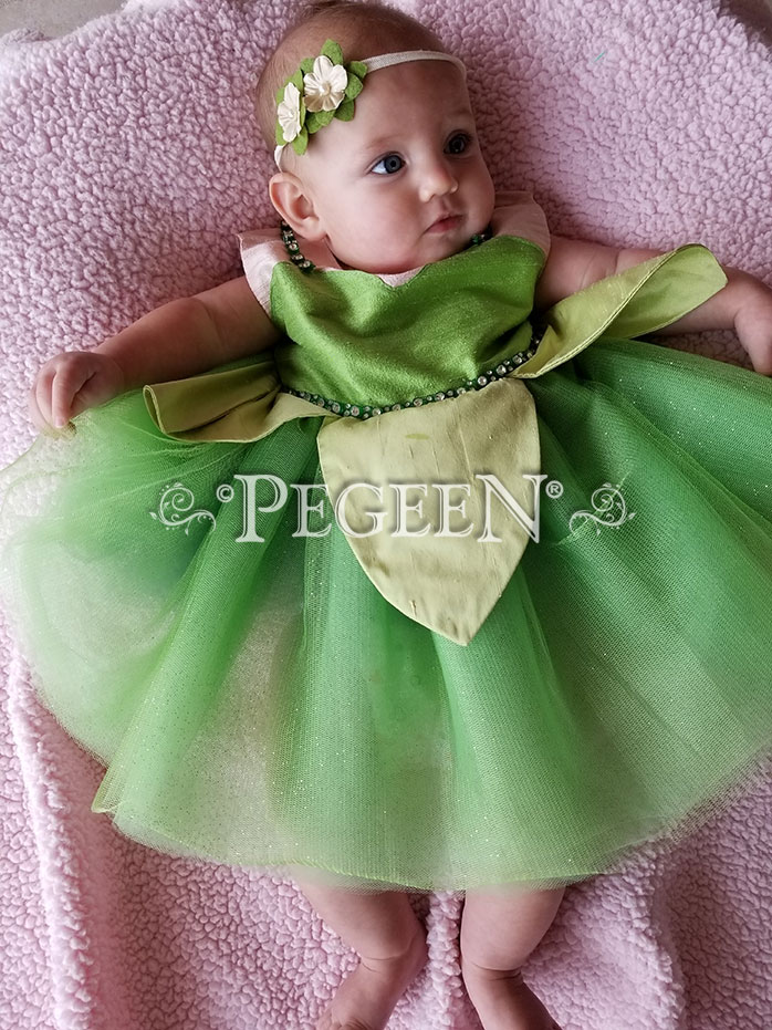 "Infant Tulle Dress ""Tinkerbelle"" From the Fairytale Collection"