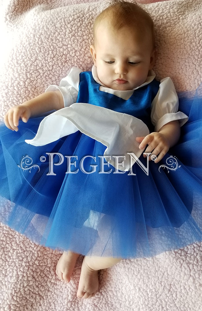 Infant Beauty and the Beast Belle Daytime Tulle Dress