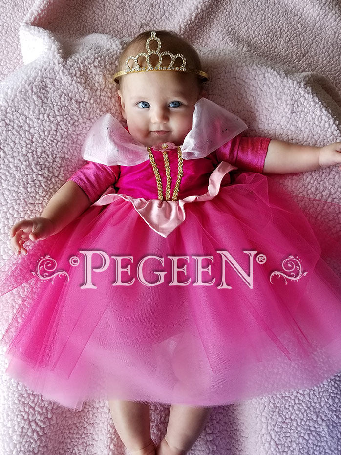 Infant Aurora Fairytale Tulle Dress