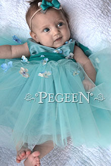 Infant Flower Girl Dress 811