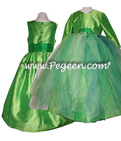 Emerald Fairy Flower Girl Dress Style 901