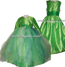 Tinkerbell Fairy Flower Girl Dress Style 901