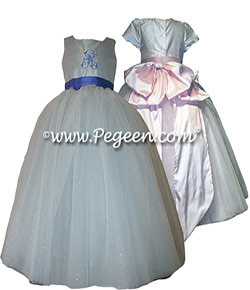 Sapphire Fairy Flower Girl Dress Style 902