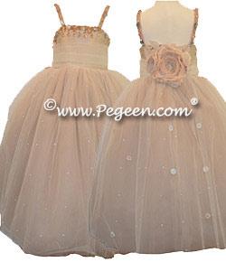 Topaz Fairy Flower Girl Dress Style 904