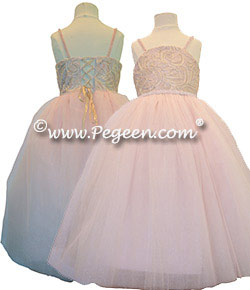 Morganite Fairy Flower Girl Dress Style 905