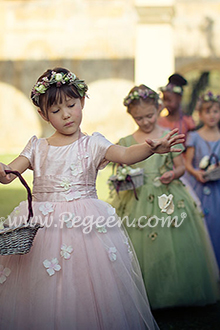 Fairy Tale Flower Girl Dress 911