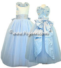 Flower Girl Dress Style 913 FAIRYTALE COLLECTION - Blue Quartz Fairy
