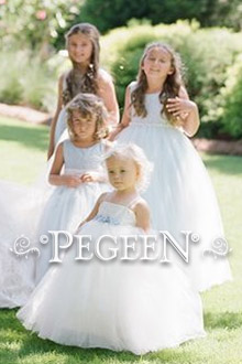 Fairy Tale Flower Girl Dress 915