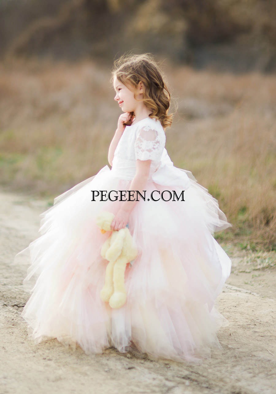 Fairy Tale Flower Girl Dress 921
