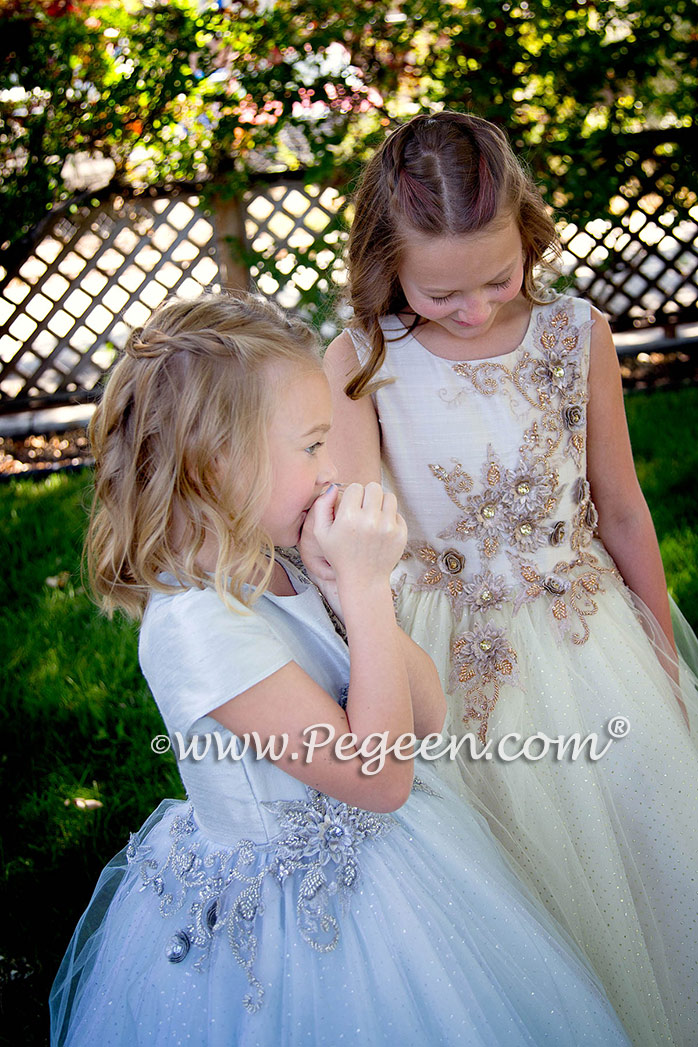 Fairy Tale Flower Girl Dress 922