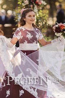 Fairy Tale Flower Girl Dress 924