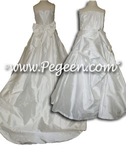Mini Bride Dress Couture Stle Flower Girl Dress 950