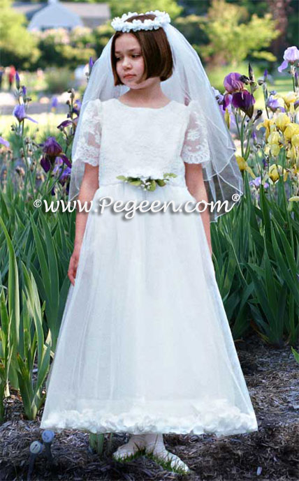 Tulle Communion Dresses Style 963