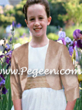 Flower Girl Dress Bolero Jacket