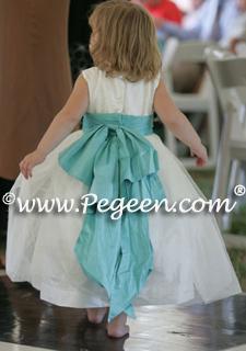 Tiffany Flower girl dresses