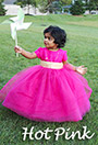 Hot Pink Featured Flower Girl Dresses and Weddings