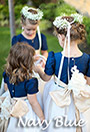 Navy Featured Flower Girl Dresses and Weddings
