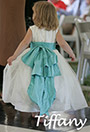 Tiffany Blue Flower Girl Dresses