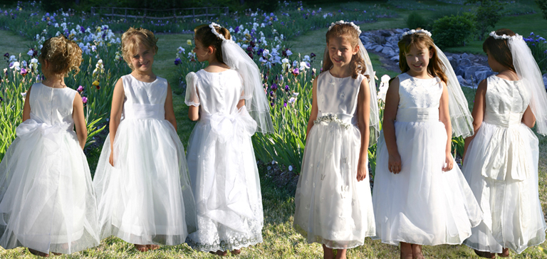 First Communion or Cotillion can be made in Plus Size First Communion Dresses