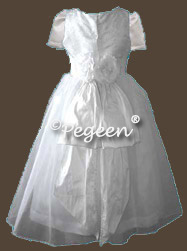 Silk Communion Dreses
