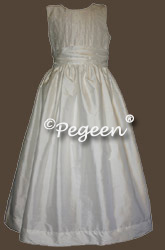 Communion Dresses with Pearls