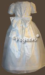 Sequin & Silk Communion Dresses