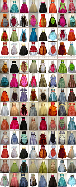 CUSTOM FLOWER GIRL DRESSES IN 200 COLORS