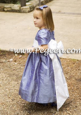 Hydrangea flower girl dresses