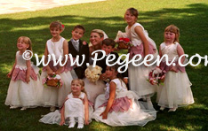 Fairies flower girl dresses