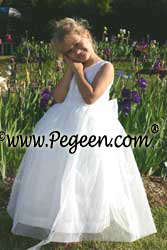 Communion Dresses in tulle and silk