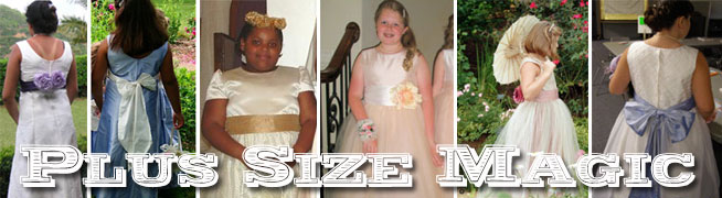 Plus Size Flower Girl Dresses | Pegeen