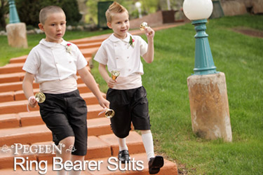 Ring Bear Suits and Page Boy Outfits