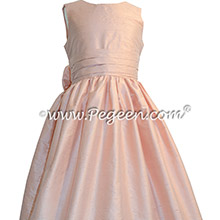 Ballet Silk flower girl dresses