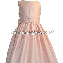 Ballet Silk flower girl dresses