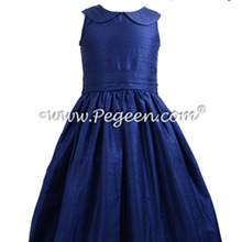 Navy Blue Jr Bridesmaids Dress