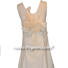320 Ivory Jr Bridesmaids Dress