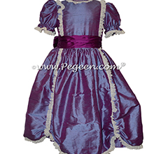 Razzleberry Silk Victorian Style Nutcracker Costume or Party Scene Dresses