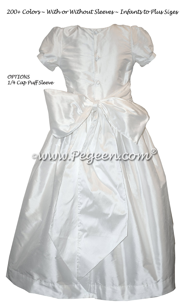 Simple First Communion dresses - Style 398