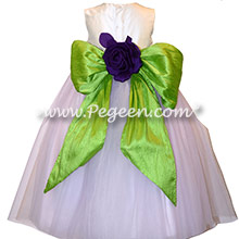 Light Lavender Tulle Infant Flower Girl Dress